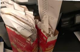 Box Full of Receipts